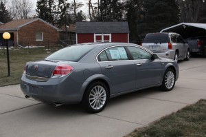2009 Saturn Aura XR V6 5